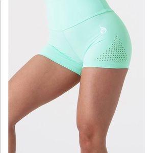 Mint High Waisted Shorts